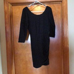 Little Black Dress-Semi-backless